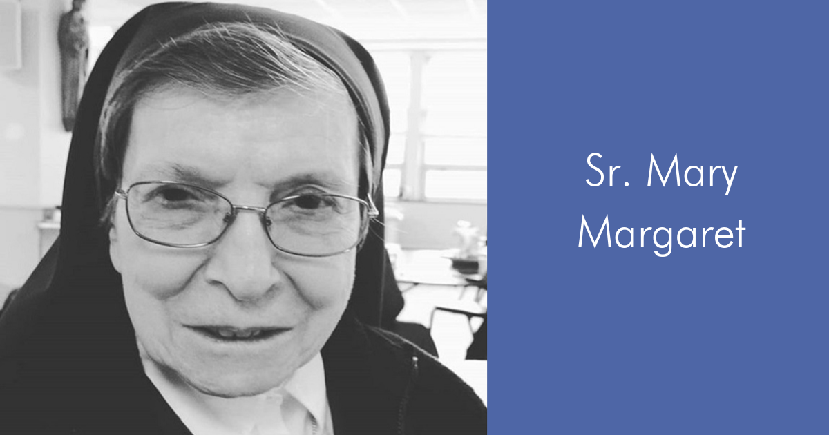 Meet Sr. Mary Margaret!