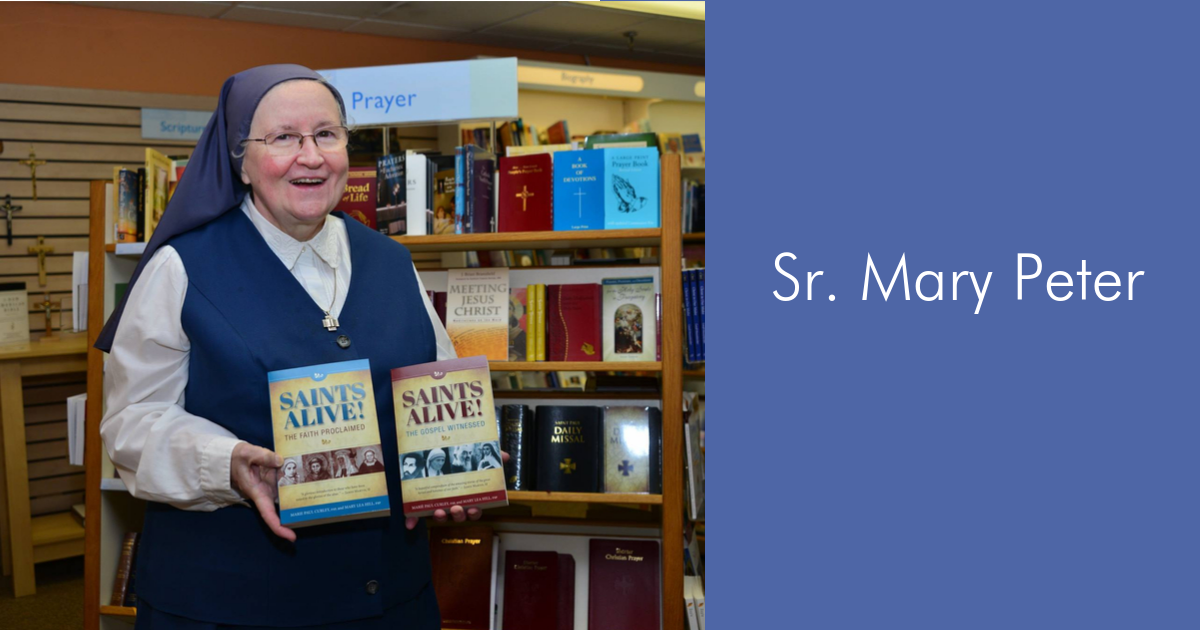 Meet Sr. Mary Peter!