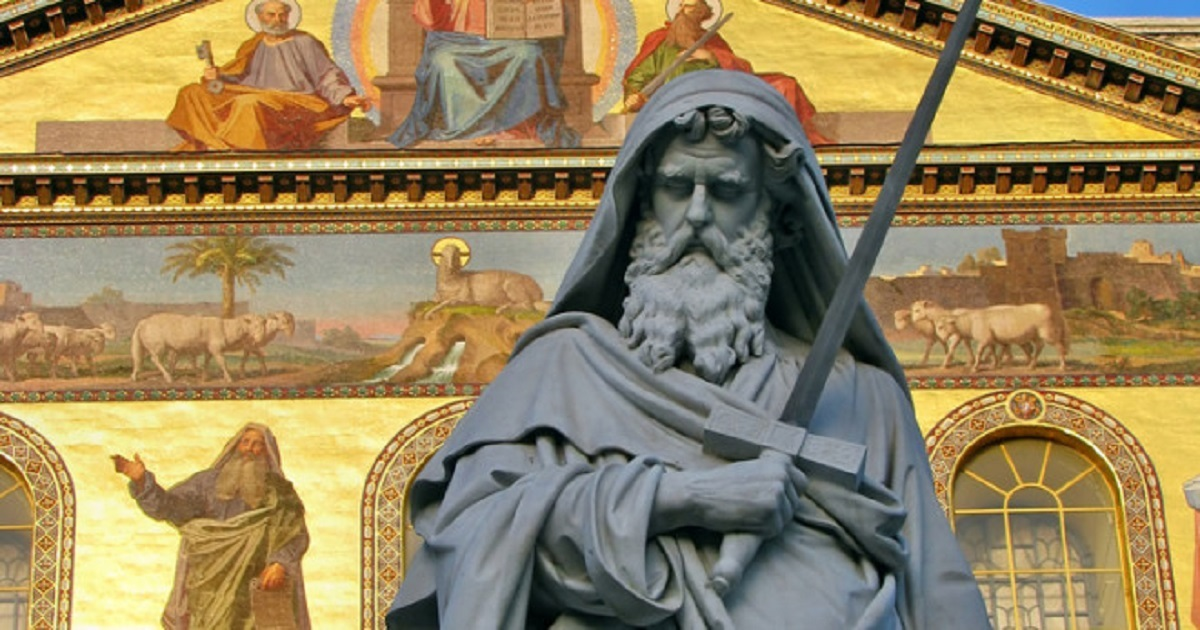 A Meditation with Saint Paul